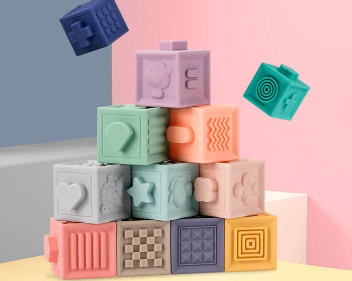 Toddler Toys: 12-Piece Play Blocks