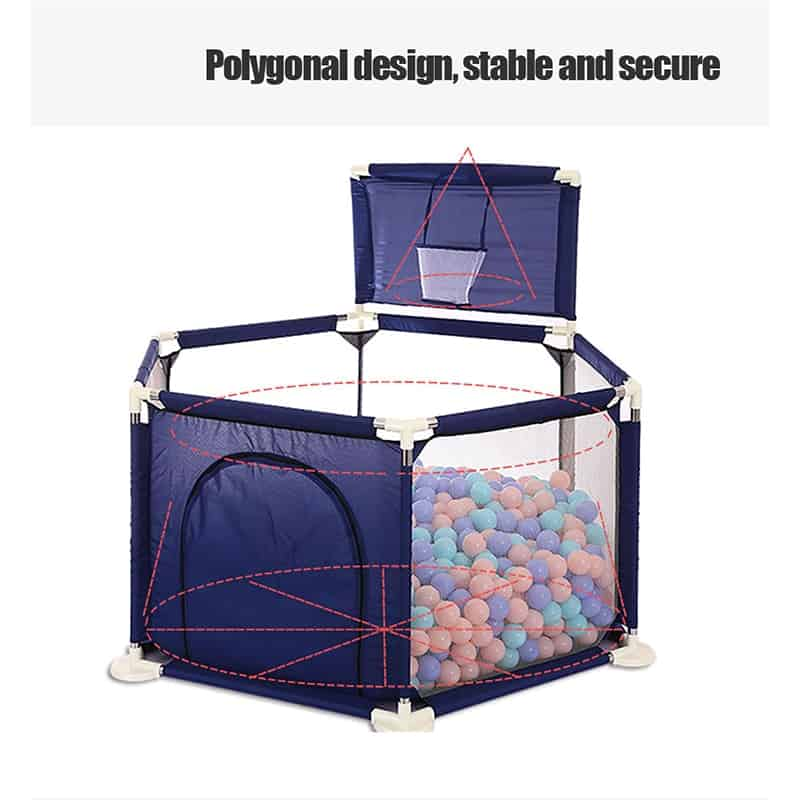 Ball Pool Or Children Playpen For Six-Month Kid